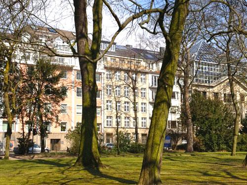 Haus direkt am Hofgarten