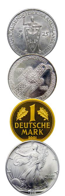 Münzen versteigern
