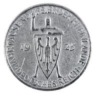 5 Reichsmark Weimarer Republik in sehr schön