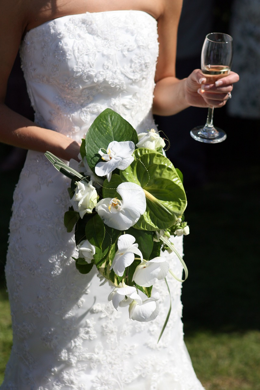 Bouquet de mariée, Devis gratuit sur mesure.