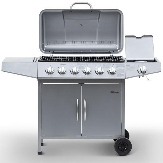 barbecue gaz 7 bruleurs