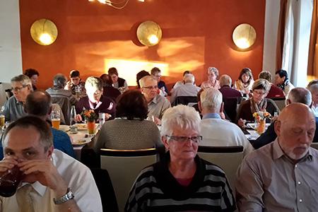 Bustour Schmalzmühle mit Käseseminar mit unseren Mitgliedern von extrafit Bietgheim-Bissingen, Fitnessstudio 50+