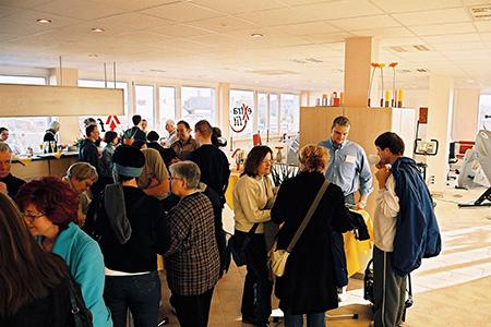Eröffnung extrafit Bietigheim-Bissingen, Fitnessstudio 50+
