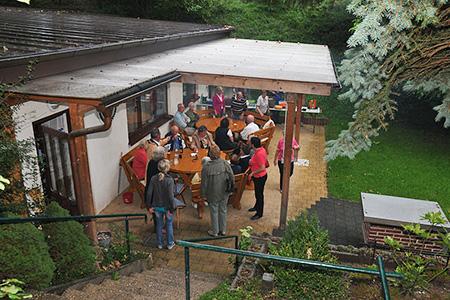 extrafit Grillparty in der Schützengilde Bietigheim-Bissingen
