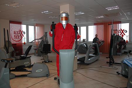 4. Geburtstag von  extrafit Bietigheim-Bissingen, Fitnessstudio 50+