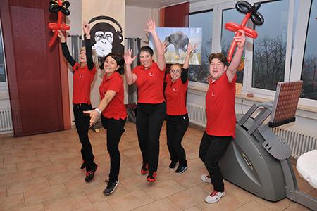 7. Geburtstag von extrafit Bietigheim-Bissingen, Fitnessstudio 50+