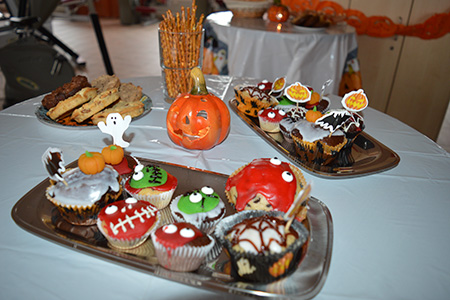 Halloween im extrafit Bietgheim-Bissingen, Fitnessstudio 50+