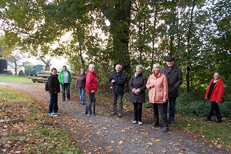 Wanderung des Fitnessstudios 50+ extrafit Bietigheim-Bissingen