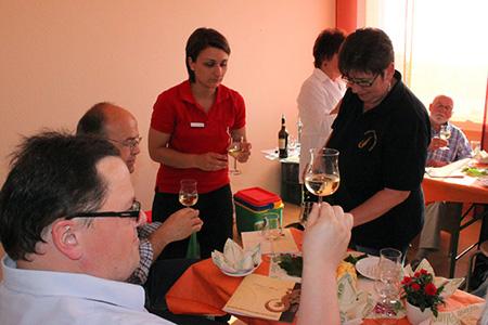 Weinprobe im extrafit Bietgheim-Bissingen, Fitnessstudio 50+
