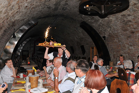 extrafit Bietigheim-Bissingen beim Rittermahl