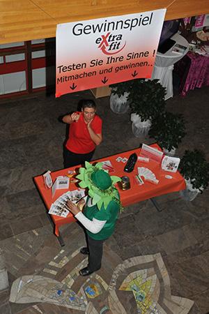 Messestand in Besigheim von extrafit Bietigheim-Bissingen, Fitnessstudio 50+
