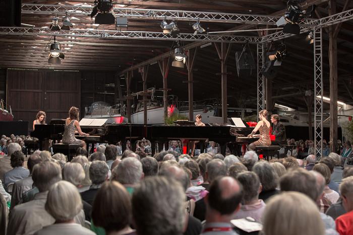 Ein unvergessliches Wochenende mit Mathias Christian Kosel (www.mathiaskosel.de), Karolin und Friederike Stegmann sowie Jeannette und Sabrina Gründling (www.pianosanderelbe.de)