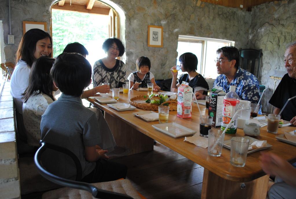 発表会後の食事会