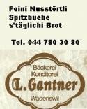 Logo Bäckerei Gantner