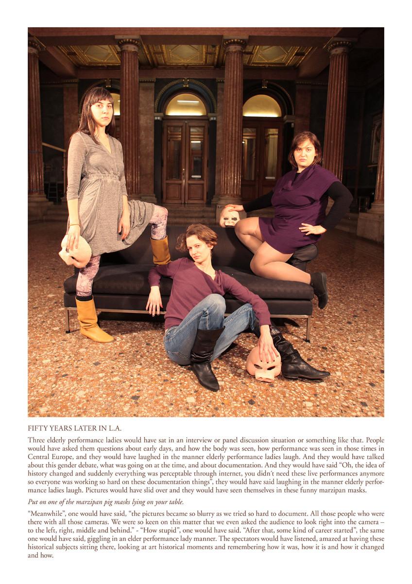 Fotocollage, f.l.t.r: Teresa Novotny, Bernadette Anzengruber, Veronika Merklein, photo: Veronika Burger, text: Veronika Merklein