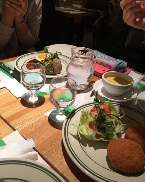2015年1月お食事しながらの女子トーク