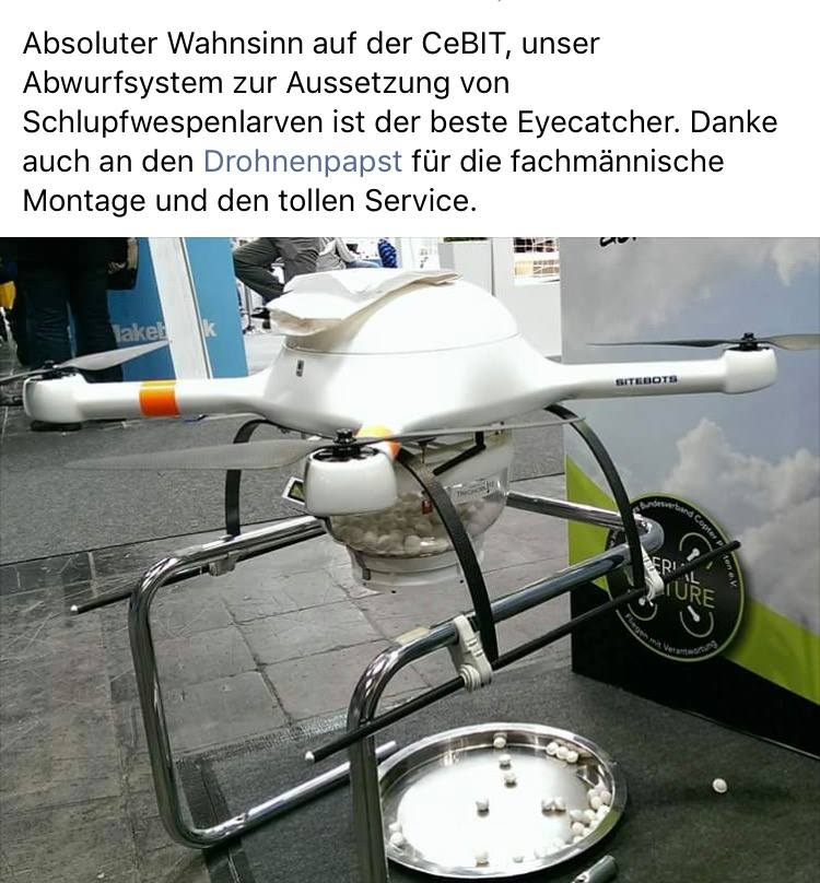 Reparaturservice für Drohnen
