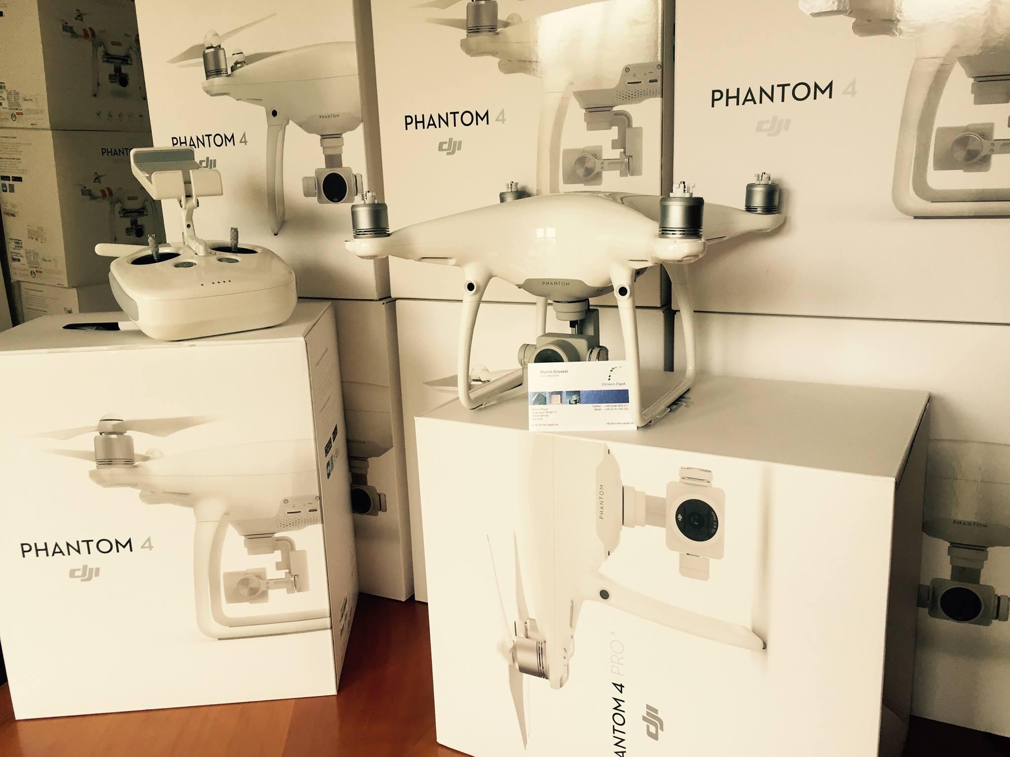DJI Phantom 4 Pro Lieferung