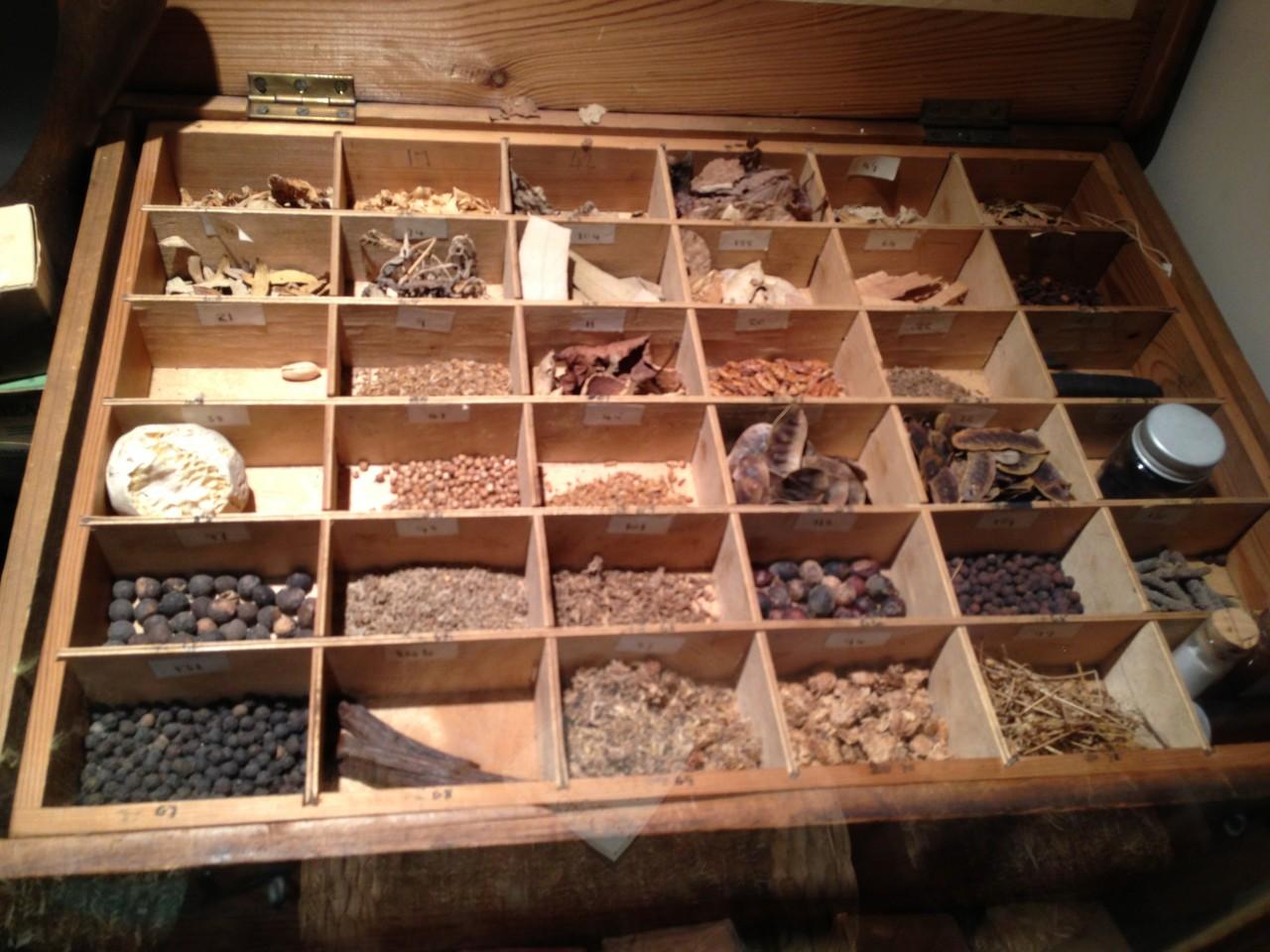 Medizinische Schätze aus dem 18 ten Jahrhundert