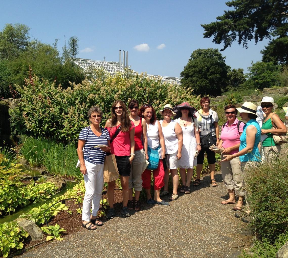 Idyliischer Kew Garden