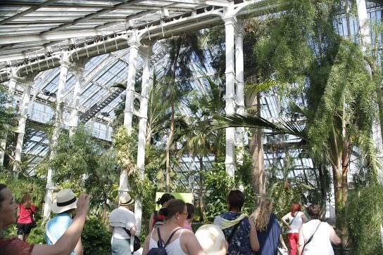 Die beeindruckenden Glashauser in Kew