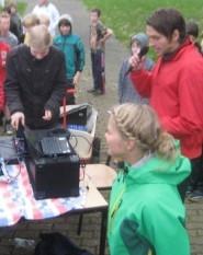 Ein starkes Team: Frau Kock, Herr Rüsch und Henning