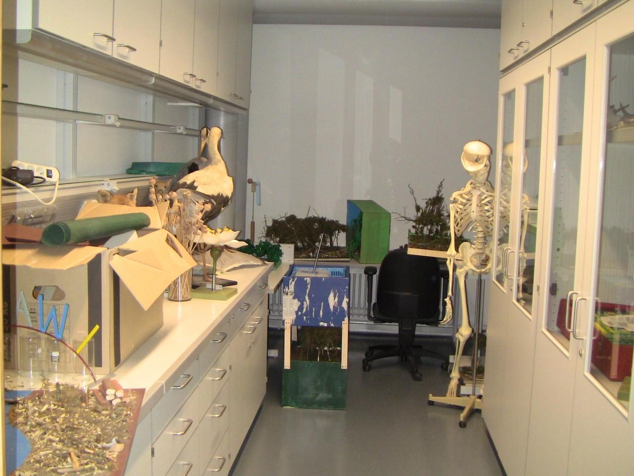 Vorbereitungsraum Biologie