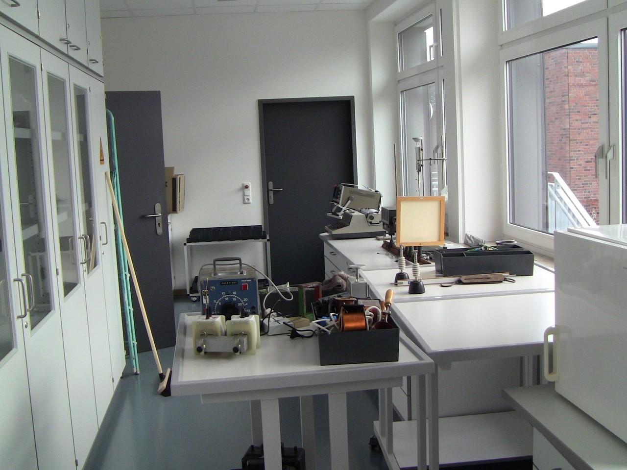 Vorbereitungsraum Physik