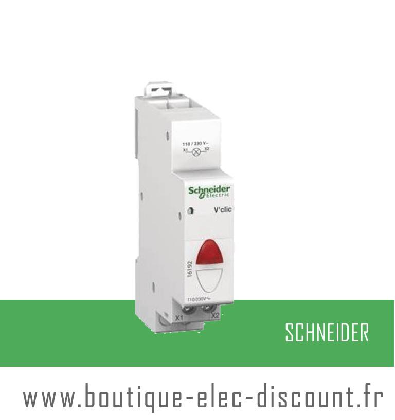 Voyant vclic rouge r f 16192 schneider materiel lectrique prix discount - Materiel electrique schneider ...