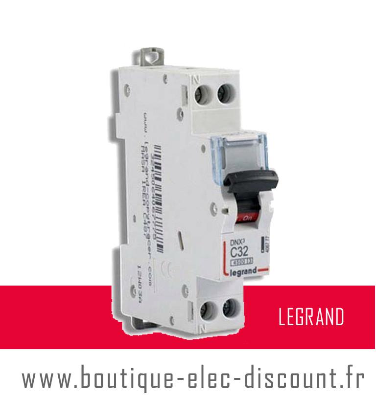 Disjoncteur 32a vis r f 406777 legrand materiel lectrique prix discount - Materiel electrique discount ...
