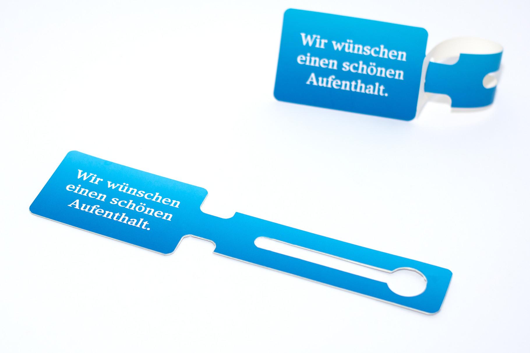 Kunststoff-Kofferanhänger