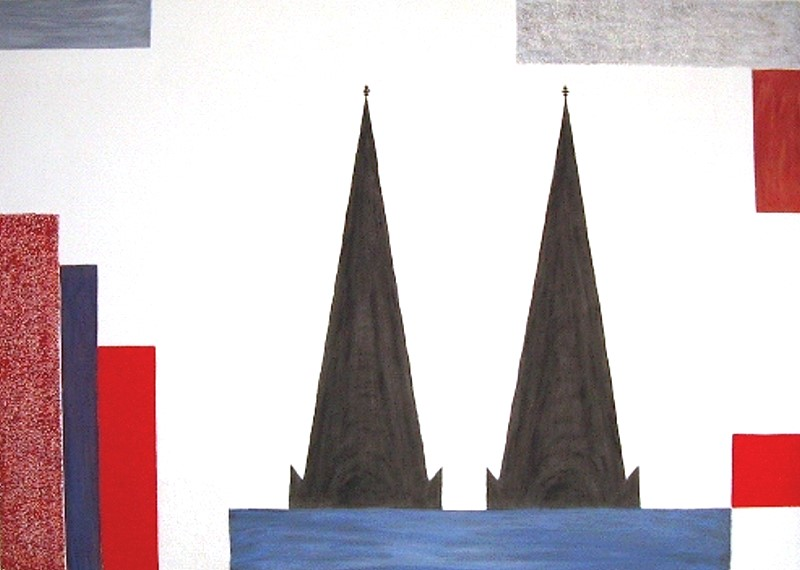 Dom / 120 x 100 cm / 320,- €