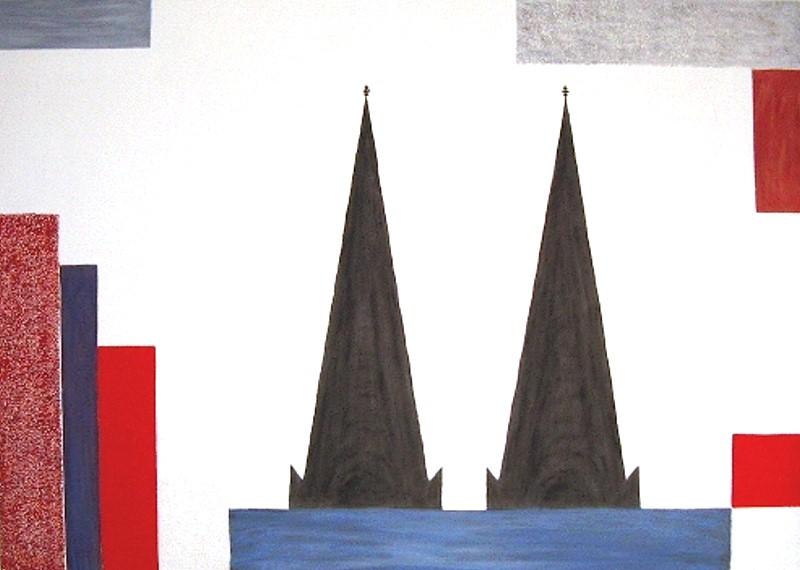 Dom / 120 x 100 cm / 315,- €