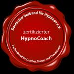 zertifizierter HypnoCoach Siegel DVH