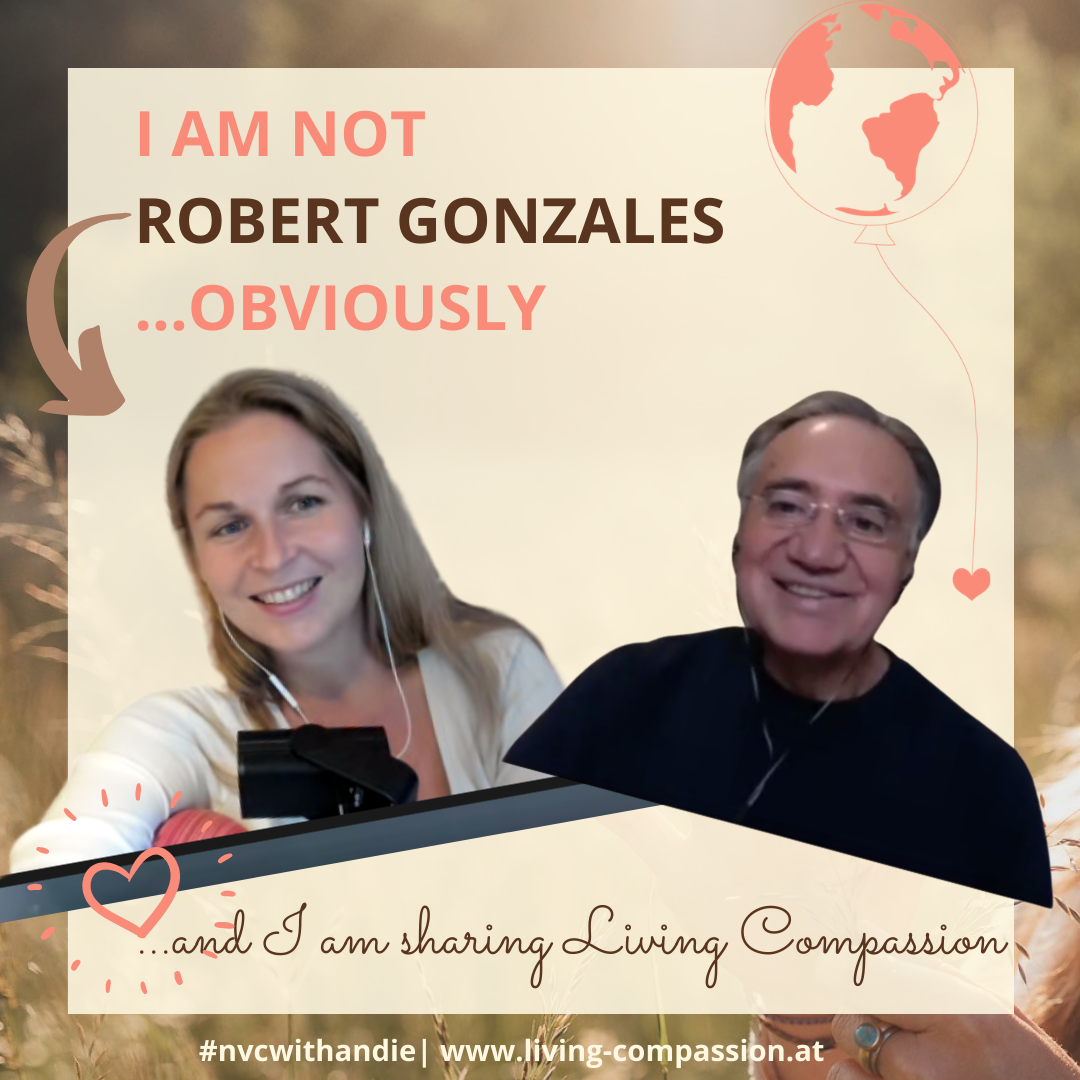 I AM NOT ROBET GONZALES...obviously