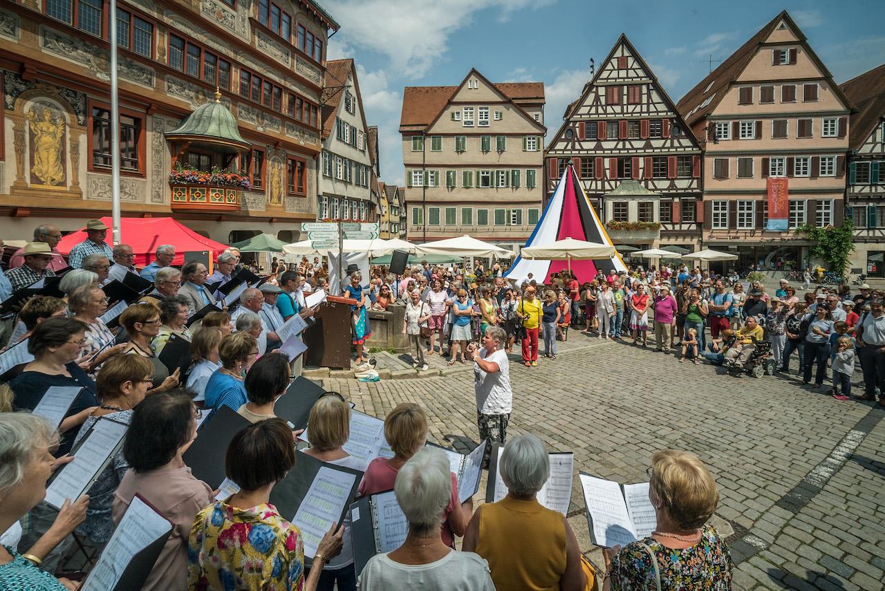 Der Chor. Foto: Ulrich Metz