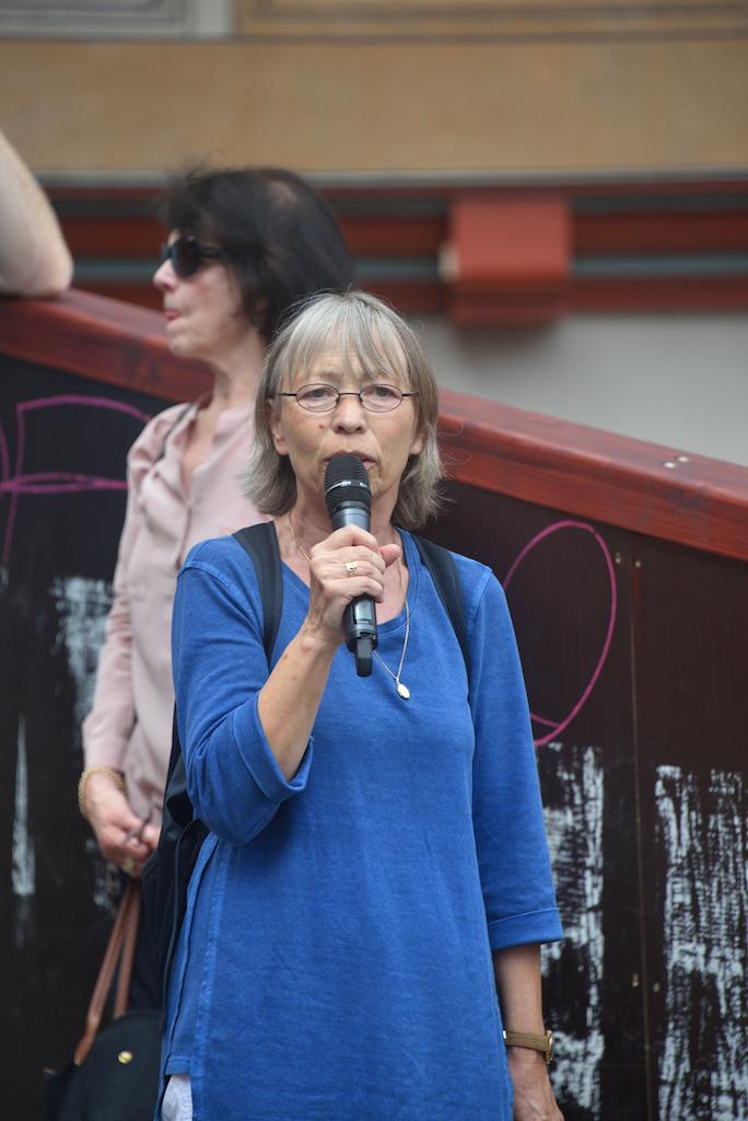 Susanne Walser, Leiterin des VHS Tübingen