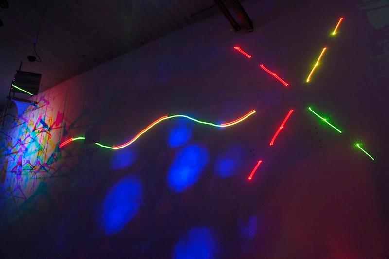 Lasermotiv.
