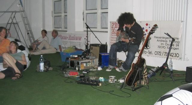 Finale mit Live Musik von Thomas Maos