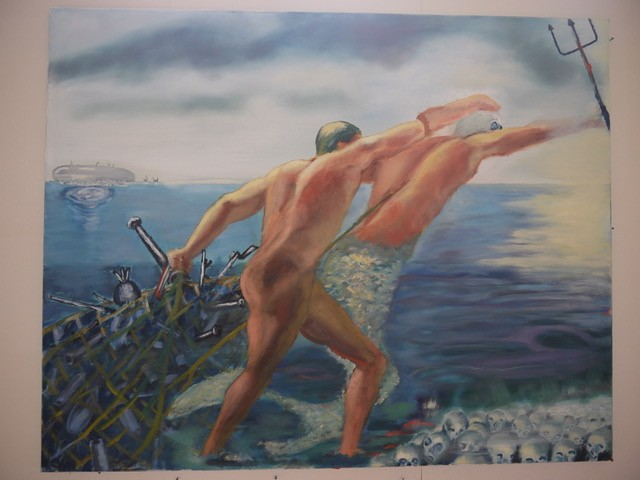 Claudius Henning - Neptun besieg den Krieg.