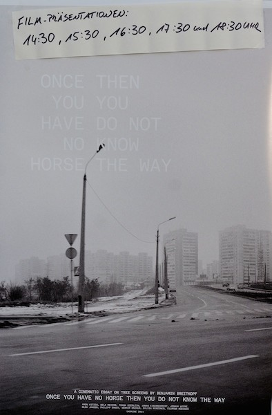 Once you have no horse then you do not know the way - www
