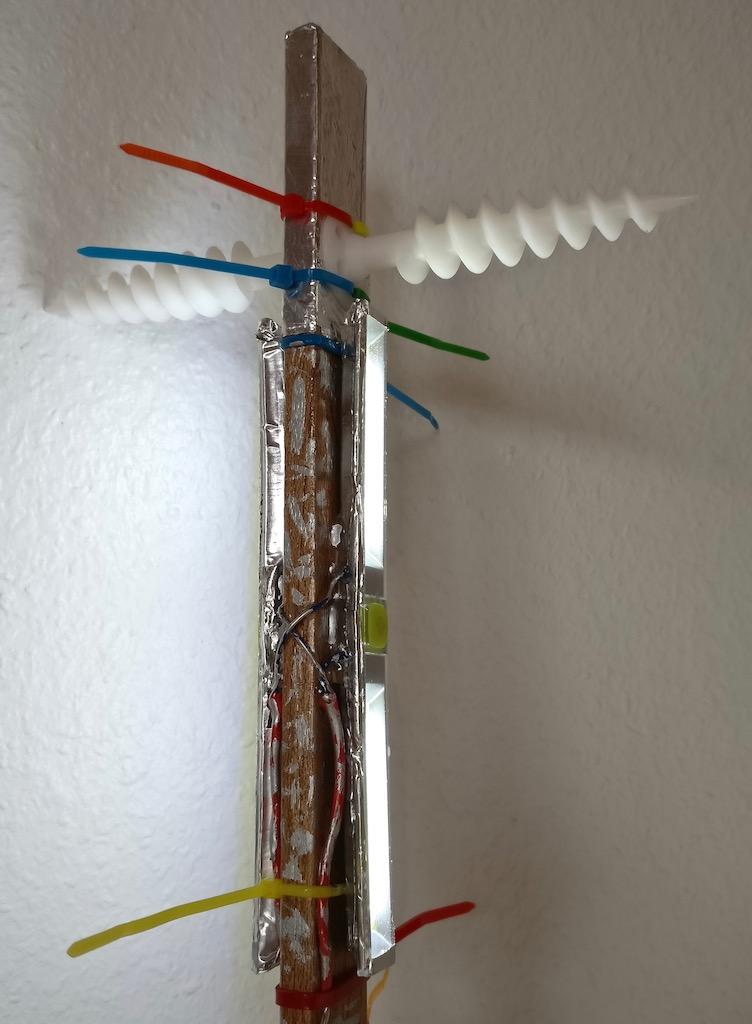 LED, getrennt schaltbar.