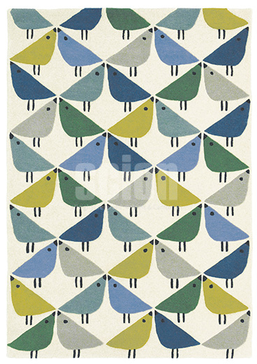Handtuft Teppich Scion Lintu 24408