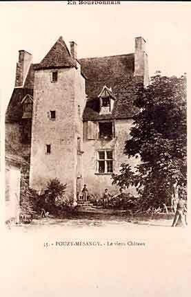 Château de Pouzy