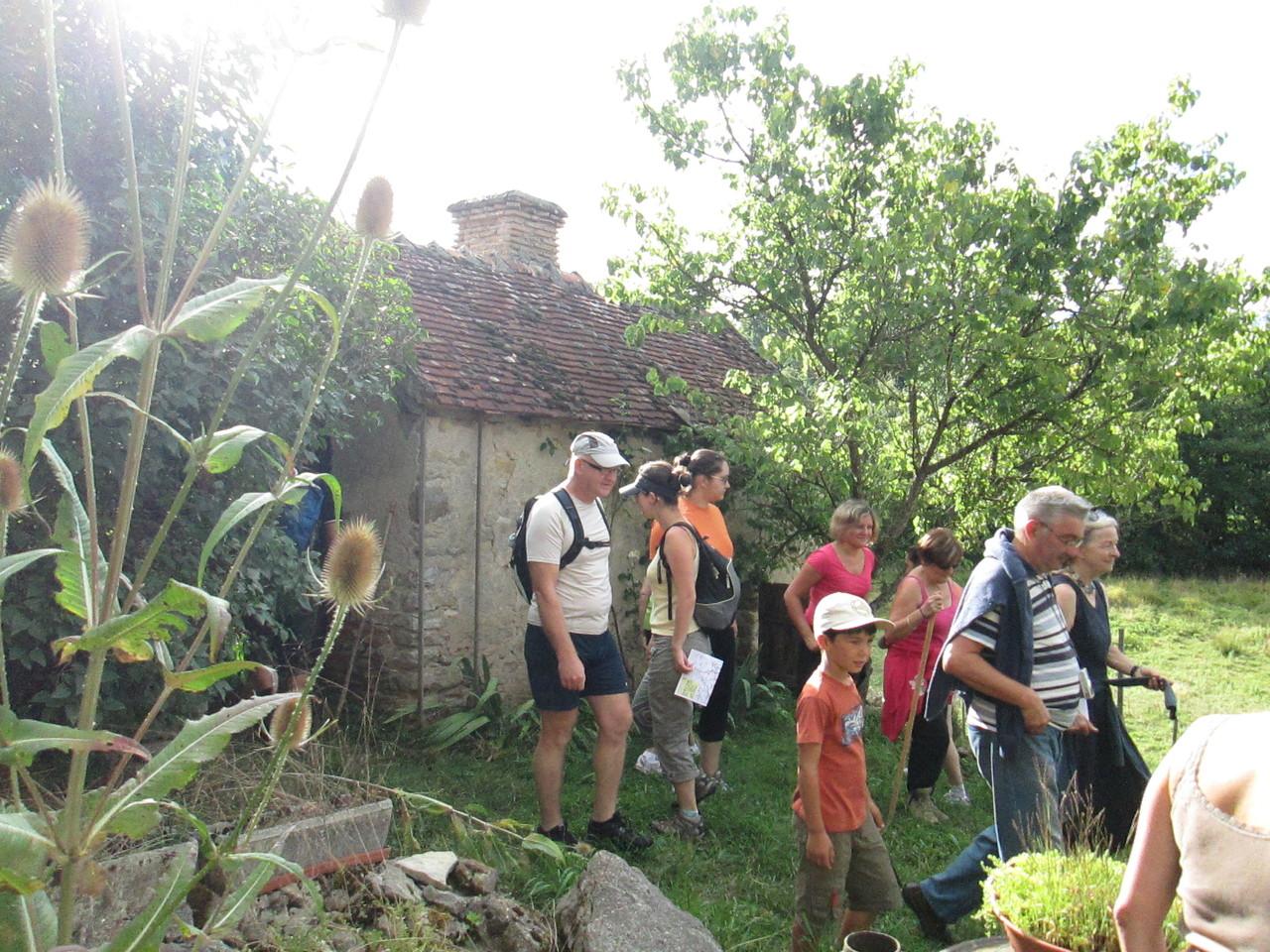 Visite du four banal de la Vieille Forge
