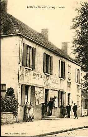 Mairie de Pouzy
