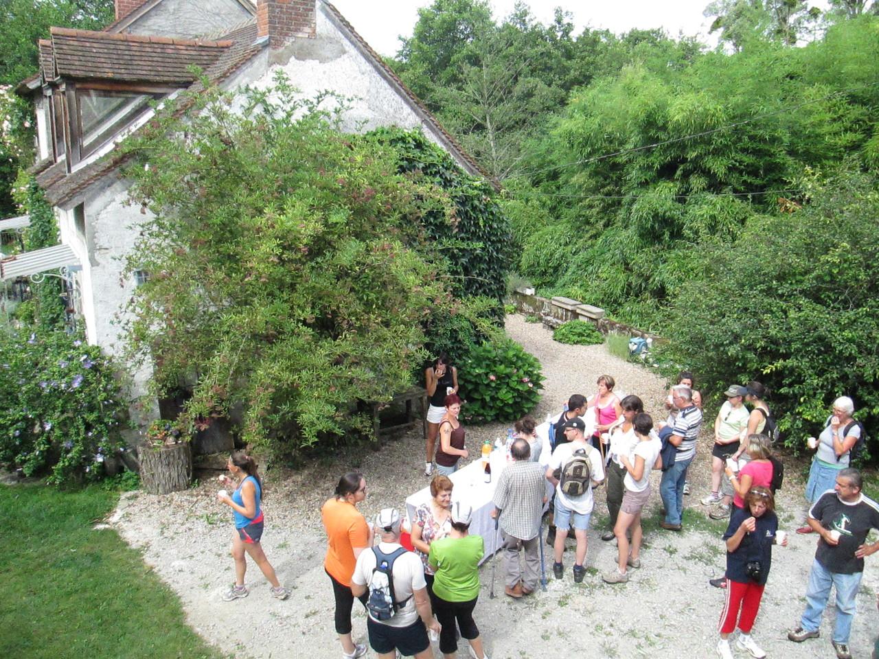 Le moulin de la Pierre (accueil des propriétaires M. et Mme Zimmermann)
