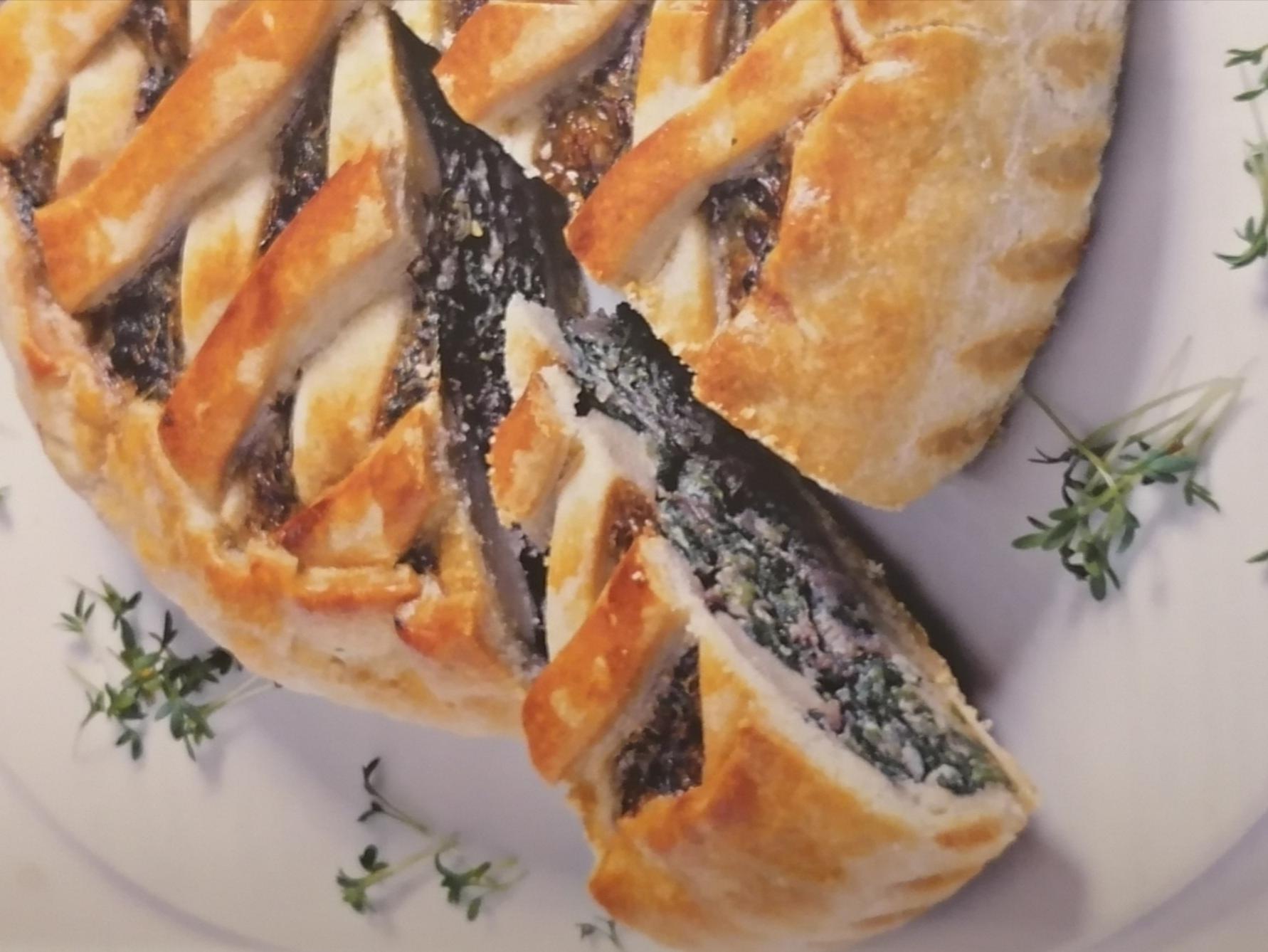 Spinat-Radicchio Torte