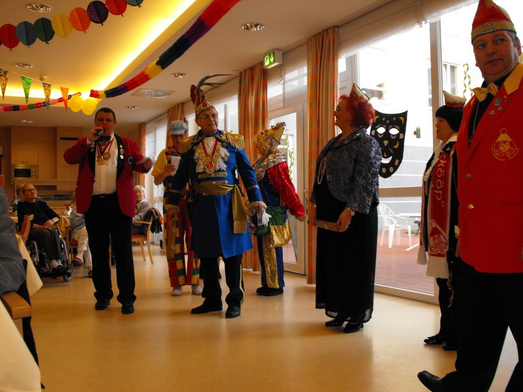 Seniorenprinzenpaar der Karnevalsgesellschaft Puppeköpp
