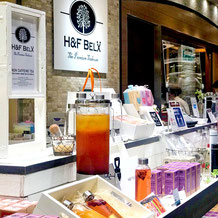H&F BELX 渋谷ヒカリエ店 エイチアンドエフベルクス 実店舗